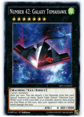 Number 42: Galaxy Tomahawk - MP15-EN055 - Common - 1st Edition