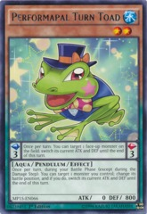Performapal Turn Toad - MP15-EN066 - Rare - 1st Edition