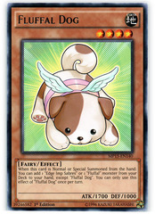 Fluffal Dog - MP15-EN140 - Rare - 1st Edition