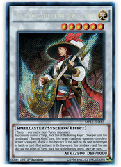 Virgil, Rock Star of the Burning Abyss - MP15-EN187 - Secret Rare - 1st Edition