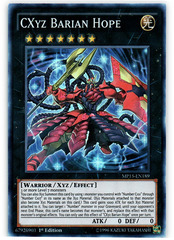CXyz Barian Hope - MP15-EN189 - Super Rare - 1st Edition