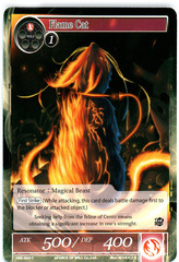 Flame Cat - SKL-024 - C - 1st Edition (Foil)