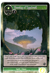 Blessing of Yggdrasil - SKL-053 - C - 1st Edition (Foil) on Channel Fireball