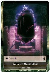 Darkness Magic Stone - SKL-101 - C - 1st Edition (Foil)
