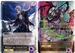 Rezzard, the Undead Lord // Rezzard, the Desecrating Vampire - SKL-077 // SKL-077J - R - 1st Edition (Full Art)