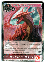 Draig, the Red Dragon - SKL-021 - U - 1st Edition (Foil)