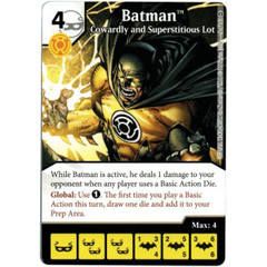 Batman - Cowardly and Superstitious Lot (Die & Card Combo)