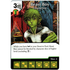 Beast Boy - Changeling (Die & Card Combo)