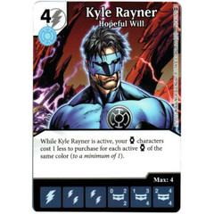 Kyle Rayner - Hopeful Will (Die & Card Combo)