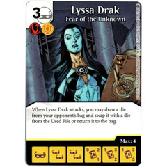 Lyssa Drak - Fear of the Unknown (Die & Card Combo)