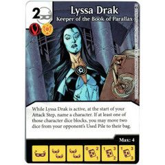 Lyssa Drak - Keeper of the Book of Parallax (Die & Card Combo)