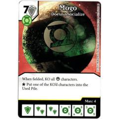 Mogo - Doesnt Socialize (Die & Card Combo)