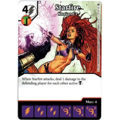 Starfire - Koriand'r (Die & Card Combo)