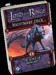 The Lord of the Rings: The Card Game - Nightmare Deck: The Voice of Isengard