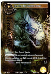 Bai Hu, the Sacred Beast - SKL-002 - R - 1st Edition - Full Art on Channel Fireball