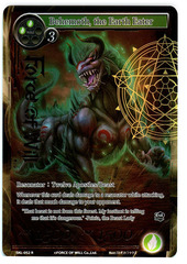 Behemoth, the Earth Eater - SKL-052 - R - 1st Edition - Full Art on Channel Fireball