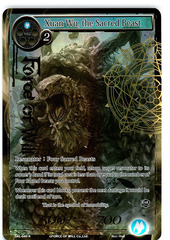 Xuan Wu, the Sacred Beast - SKL-049 - R - 1st Edition - Full Art