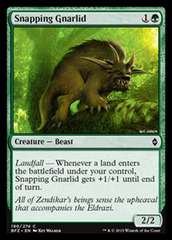 Snapping Gnarlid - Foil