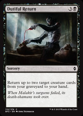 Dutiful Return - Foil