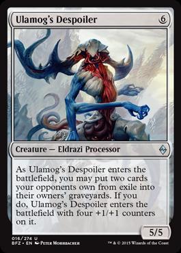 Ulamogs Despoiler - Foil