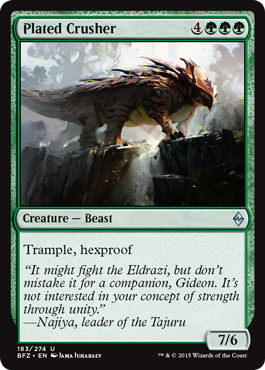 Plated Crusher - Foil