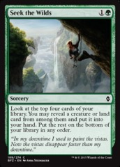 Seek the Wilds - Foil