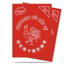 Sriracha Standard Deck Protector Sleeves Matte (50)