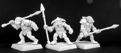 Lesser Orc Spearmen(9) Reven Grunt