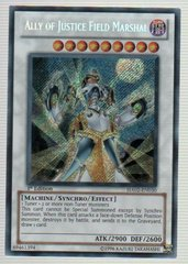 Ally of Justice Field Marshal - HA02-EN030 - Secret Rare - 1st Edition on Channel Fireball
