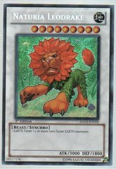 Naturia Leodrake - HA02-EN058 - Secret Rare - 1st Edition