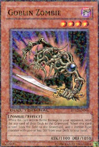 Goblin Zombie - DT02-EN060 - Parallel Rare - Duel Terminal