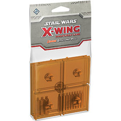 Star Wars: X-Wing Miniatures Game - Orange Bases and Pegs