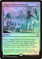 Aligned Hedron Network - Foil - Prerelease Promo on Channel Fireball