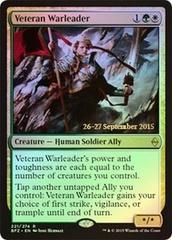 Veteran Warleader (Battle for Zendikar Prerelease Foil)