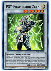 PSY-Framelord Zeta - HSRD-EN034 - Super Rare - 1st Edition on Channel Fireball
