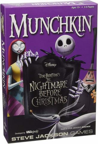 Munchkin The Nightmare Before Christmas