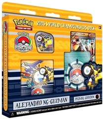 Pokemon 2015 World Championships Deck - Alejandro Ng-Guzman (Primal Groudon)