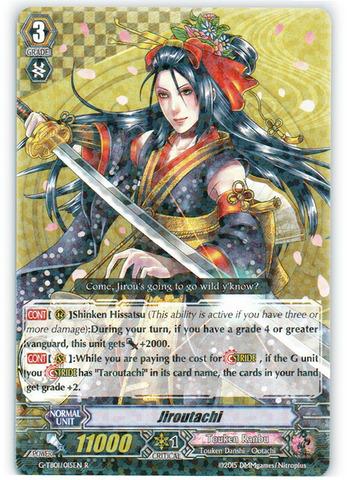 Jiroutachi - G-TB01/015EN - R