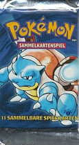 Base Set 1st Edition Booster Pack (German)