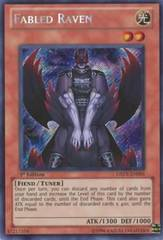 Fabled Raven - DREV-EN091 - Secret Rare - 1st Edition on Channel Fireball