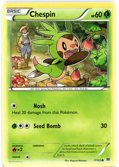 Chespin - 7/162 - Common