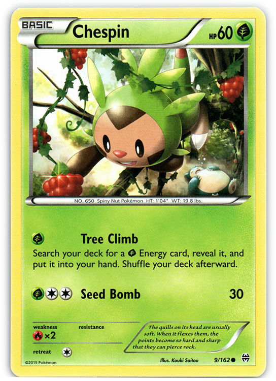Chespin - 9/162 - Common