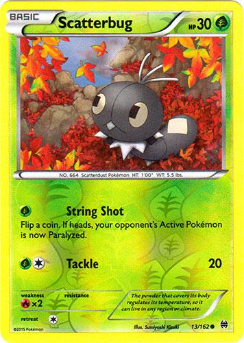 Aromatisse 106//162 BREAKthrough Reverse Holo Mint Pokemon Card