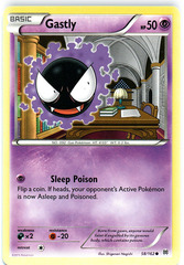 Gastly - 58/162 - Common