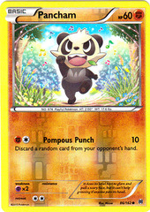 Pancham - 86/162 - Common - Reverse Holo