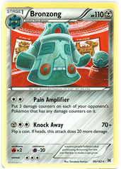 Bronzong - 96/162 - Rare on Channel Fireball