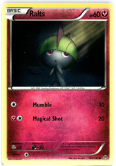 Ralts - 100/162 - Common