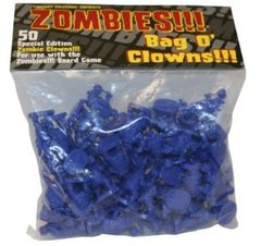 Zombies!!! Bag O Zombies Clowns 50 Count