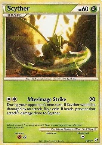 Scyther - 36/90 - Uncommon