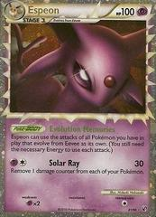 Espeon Prime - 81/90 - Super Rare Holo on Channel Fireball